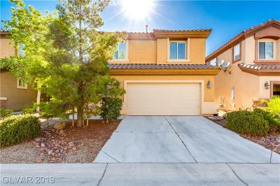Las Vegas Single Family Home For Sale: 555 Halloran Springs Road