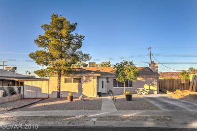 Henderson Single Family Home For Sale: 645 Burton Street