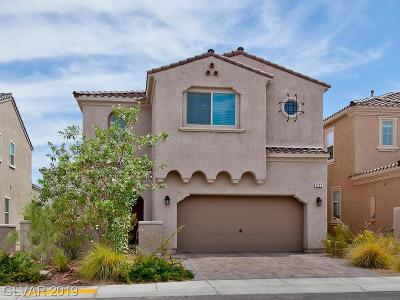 Henderson Single Family Home For Sale: 1132 Strada Pecei