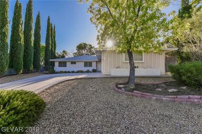 Boulder City Single Family Home For Sale: 610 Bryant Court