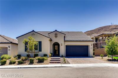 Las Vegas Single Family Home For Sale: 3477 Tarbena Drive