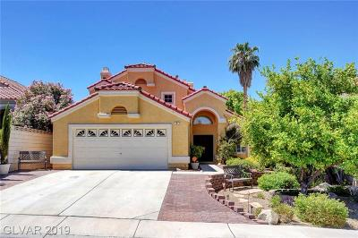 Henderson Single Family Home For Sale: 9 Pinyon Tree Circle