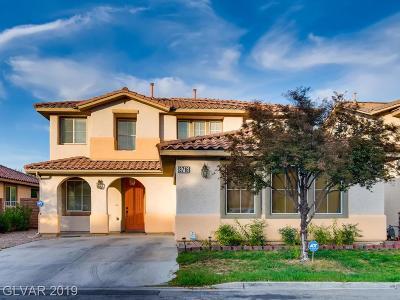 Las Vegas Single Family Home For Sale: 3716 Honey Crest Drive