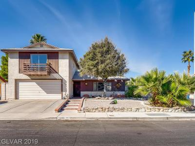 Las Vegas Single Family Home For Sale: 1836 Hermitage Drive