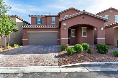 Las Vegas Single Family Home For Sale: 317 Woodsfield Court