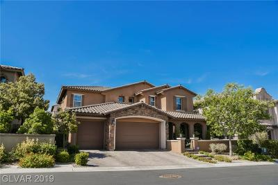 Las Vegas Single Family Home For Sale: 12230 Lost Treasure Avenue