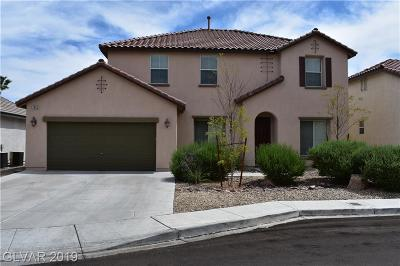 Las Vegas Single Family Home For Sale: 7642 Chantilly Island Court