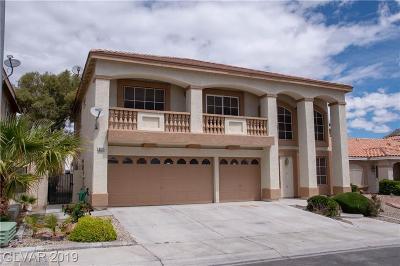 Las Vegas Single Family Home For Sale: 8524 Copper Falls Avenue