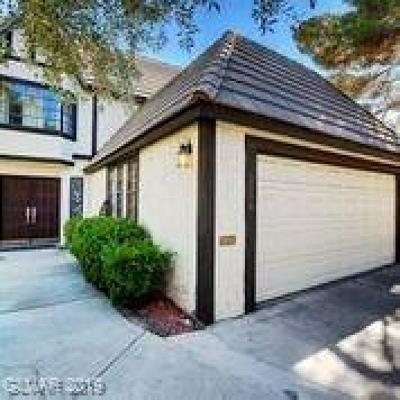Las Vegas Single Family Home For Sale: 3998 Salisbury Place