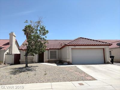 North Las Vegas Single Family Home For Sale: 4904 Goldeneye Way