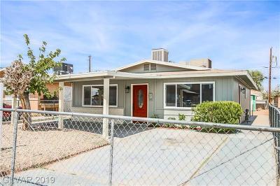 Las Vegas Single Family Home For Sale: 1260 Lawry Avenue