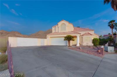 Las Vegas Single Family Home For Sale: 7293 Alsop Court
