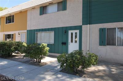 Las Vegas Condo/Townhouse For Sale: 573 Greenbriar Townhouse Way