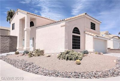 Las Vegas Single Family Home For Sale: 2717 Bianca Court