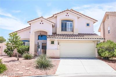Las Vegas Single Family Home For Sale: 8621 Danza Del Sol Drive