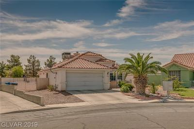 North Las Vegas Single Family Home For Sale: 3406 Chinacandle Court