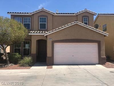 Las Vegas Single Family Home For Sale: 4932 Droubay Drive