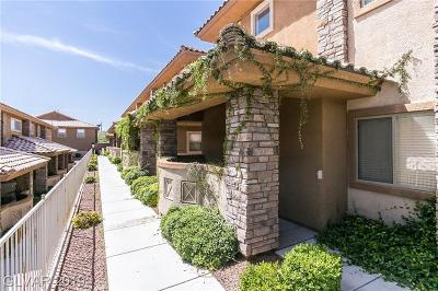 Las Vegas Condo/Townhouse For Sale: 10466 Tuscany Rose Court