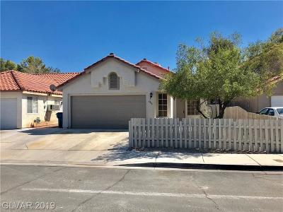 Las Vegas Single Family Home For Sale: 6945 Manistee Court