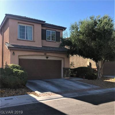 Las Vegas Single Family Home For Sale: 10061 Blair Rock
