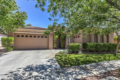 Las Vegas Single Family Home Under Contract - No Show: 1836 Taylorville Street