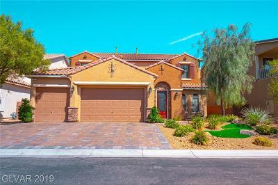 Las Vegas NV Single Family Home For Sale: $594,900