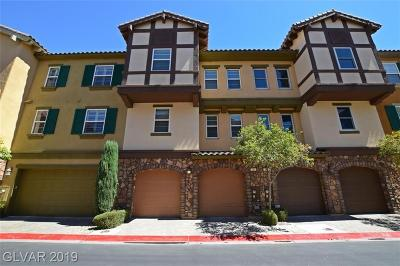 Clark County Condo/Townhouse For Sale: 18 Via Verso Lago