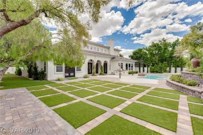 Las Vegas Single Family Home For Sale: 209 Luxaire Court