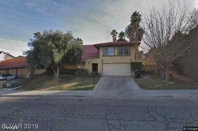 Blue Diamond, Boulder City, Henderson, Las Vegas, North Las Vegas, Pahrump Single Family Home Under Contract - No Show: 4291 Rochelle Avenue