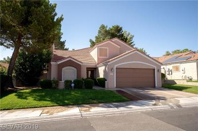 Las Vegas Single Family Home For Sale: 7637 Oyster Cove Drive