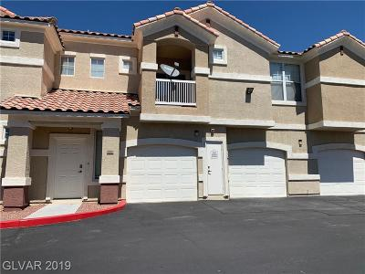 North Las Vegas Condo/Townhouse For Sale: 5855 Valley Drive #1060
