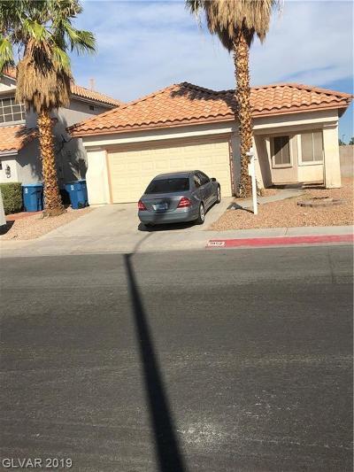 Las Vegas NV Single Family Home For Sale: $220,000