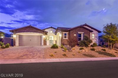 Las Vegas NV Single Family Home For Sale: $1,025,000