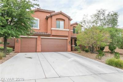 Henderson Single Family Home For Sale: 2525 Bechamel Place