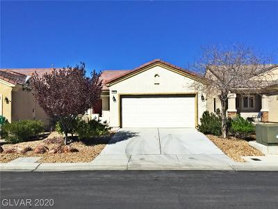North Las Vegas Single Family Home For Sale: 7437 Crested Quail Street