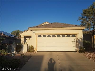 Henderson Single Family Home For Sale: 1878 High Mesa Drive