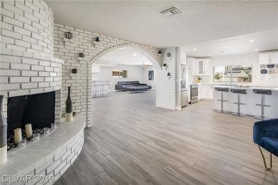 Las Vegas NV Single Family Home For Sale: $599,900