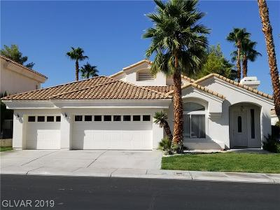 Las Vegas Single Family Home For Sale: 8104 Bay Harbor Drive