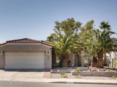 Henderson Single Family Home For Sale: 440 Tiger Lily Way