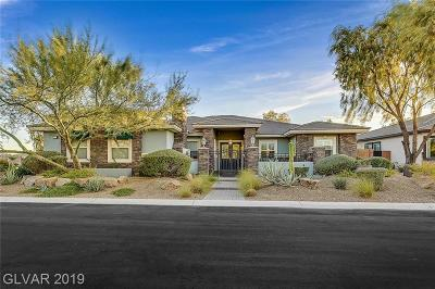 Centennial Hills Single Family Home For Sale: 6243 Braided Romel Court