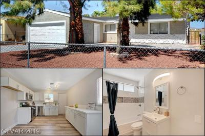 North Las Vegas Single Family Home For Sale: 1012 Bull Run Avenue