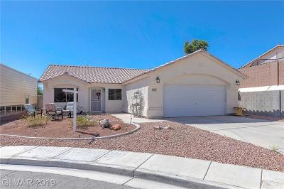 North Las Vegas Single Family Home For Sale: 3927 Tifton Court