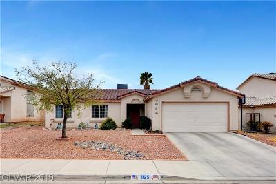 Henderson Single Family Home For Sale: 925 Sunnyfield Way