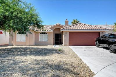 North Las Vegas Single Family Home For Sale: 6139 Marvin Street
