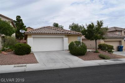 Las Vegas Single Family Home For Sale: 11024 Rossi Avenue