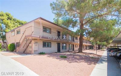 Las Vegas Condo/Townhouse For Sale: 585 Royal Crest Circle #21