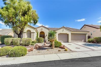 Henderson Single Family Home For Sale: 2860 Patriot Park Place