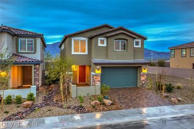 Clark County Single Family Home For Sale: 4523 Creekside Cavern Avenue #Lot 298