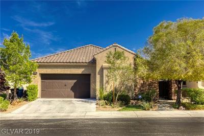 Clark County Single Family Home For Sale: 452 Via Stretto Avenue