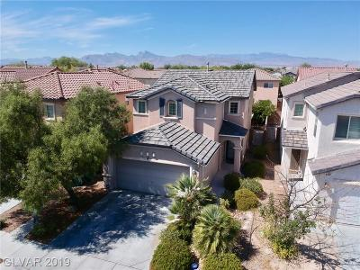 Centennial Hills Single Family Home For Sale: 8425 Saddle Valley Street